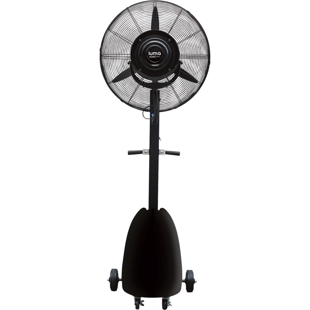 MISTING FANS-OUTDOOR COOLERS- OUTDOOR HEATERS
